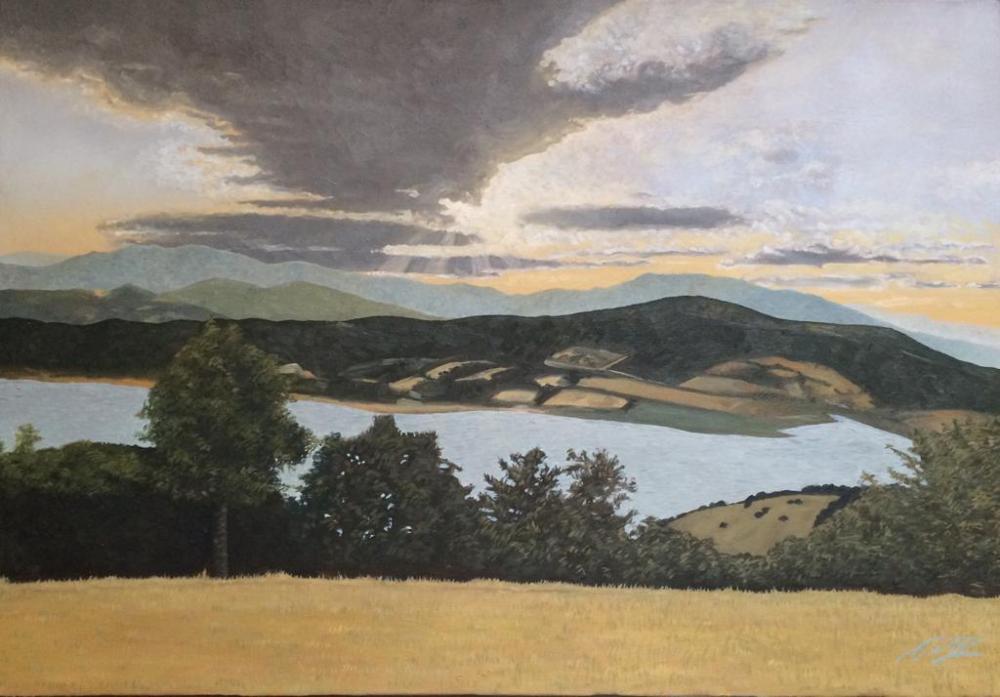 The View, Original Paintings, , kanvas tablo, canvas print sales