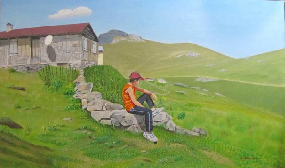 Madur Plateau, Original Paintings, Gökhan Yaşar, kanvas tablo, canvas print sales