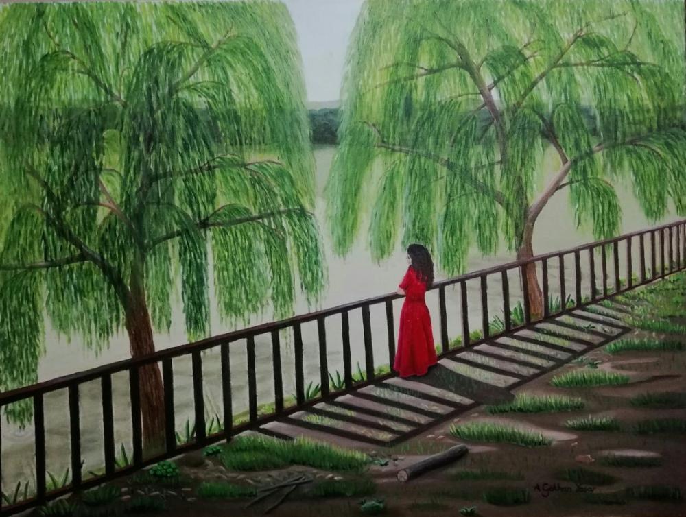 Feeling the nature, Original Paintings, Gökhan Yaşar, kanvas tablo, canvas print sales