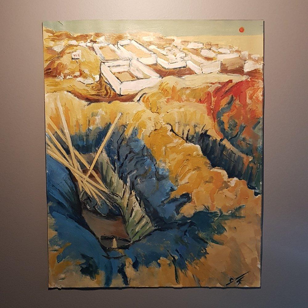 Son Tahta, Post Empresyonizm, , kanvas tablo, canvas print sales