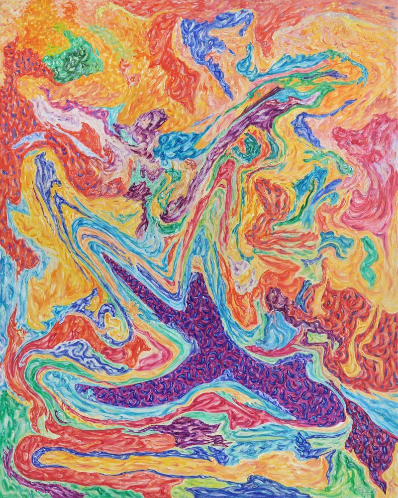 Feelings, Aggression, Original Paintings, , kanvas tablo, canvas print sales