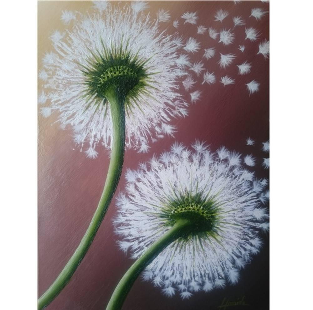 Dandelion, Original Paintings, , kanvas tablo, canvas print sales