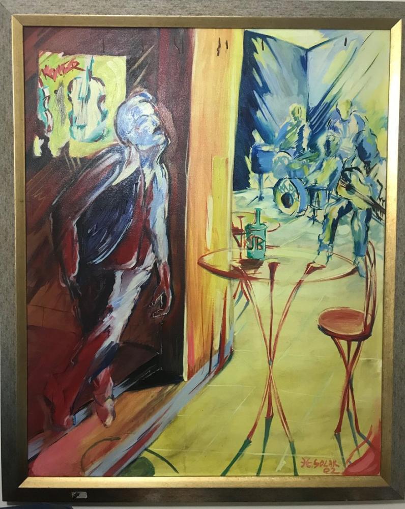 Drunk, Original Paintings, , kanvas tablo, canvas print sales