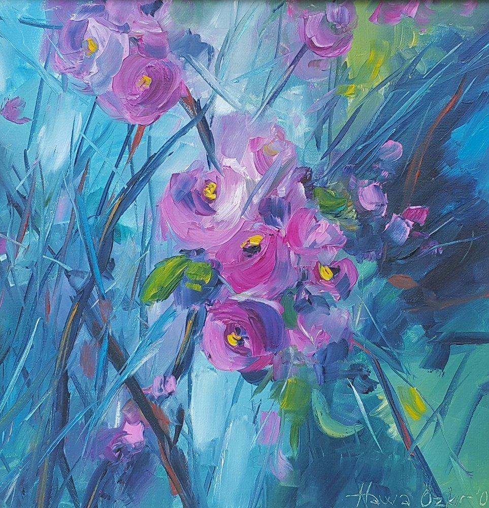 Spring Branch, Original Paintings, , kanvas tablo, canvas print sales