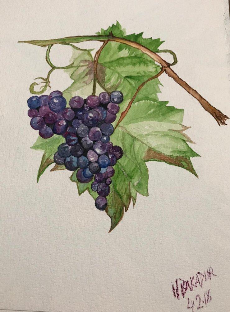 Grape, Original Paintings, , kanvas tablo, canvas print sales