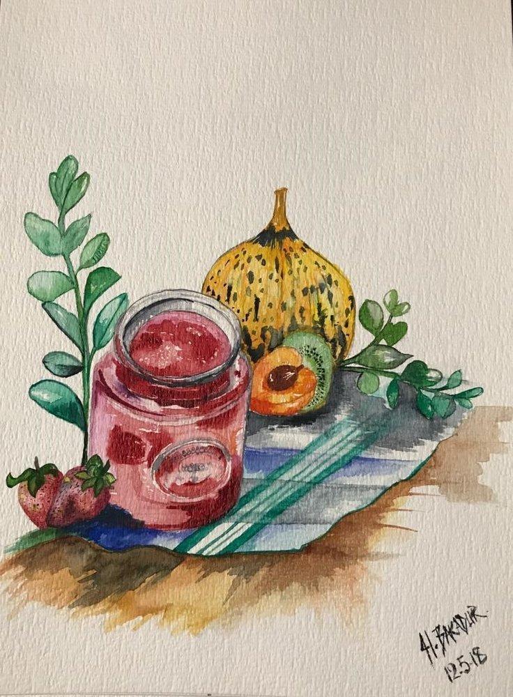 Cookout, Original Paintings, , kanvas tablo, canvas print sales
