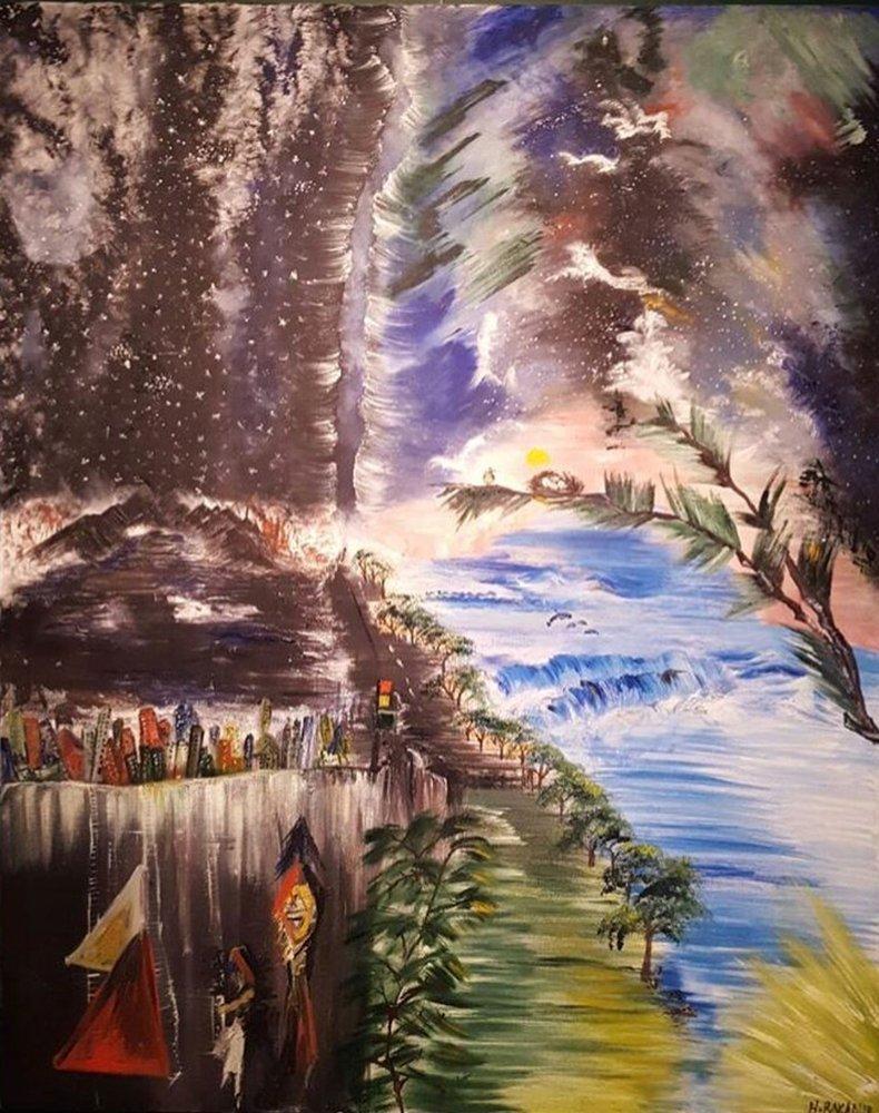 View, Original Paintings, , kanvas tablo, canvas print sales