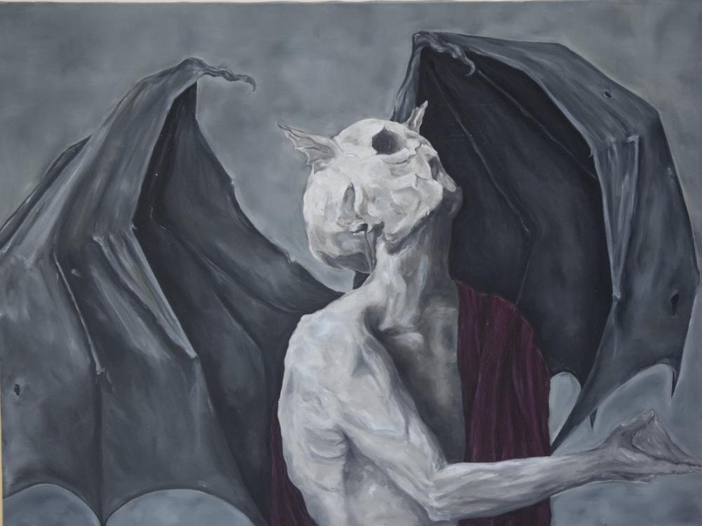 Bat, Original Paintings, , kanvas tablo, canvas print sales