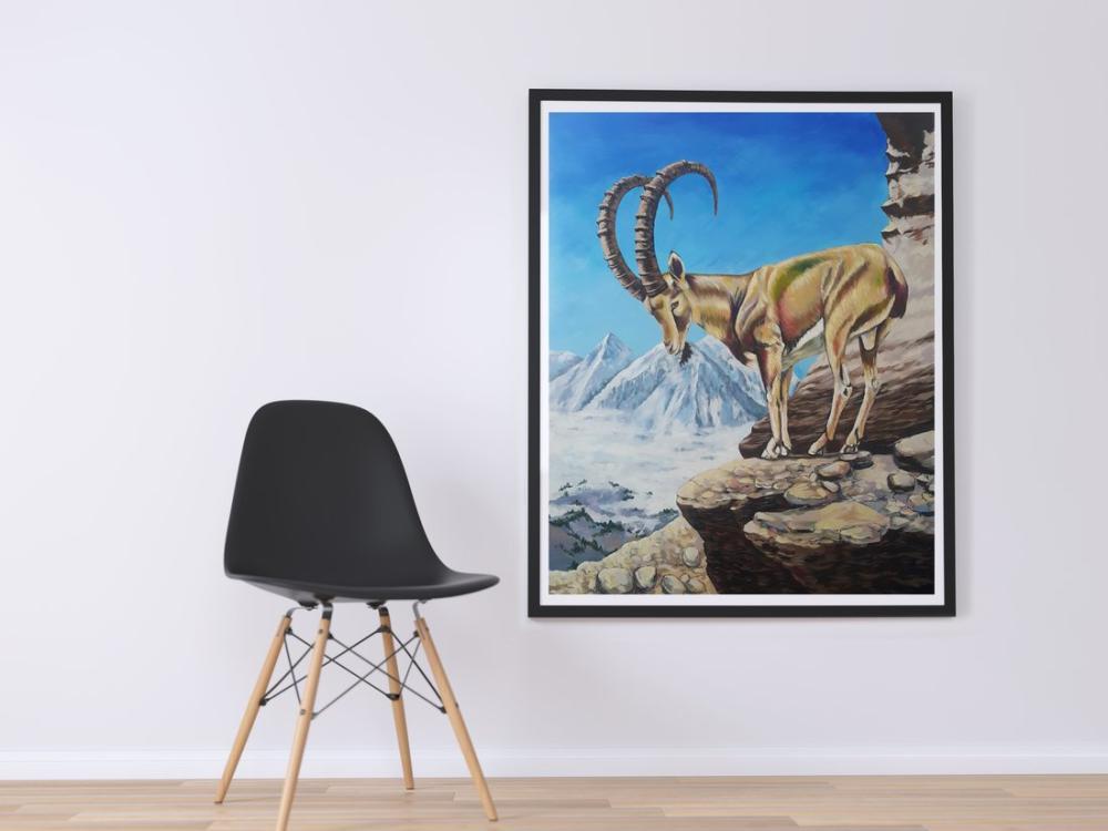 Dağkeiçisi, Orijinal Tablolar, , kanvas tablo, canvas print sales