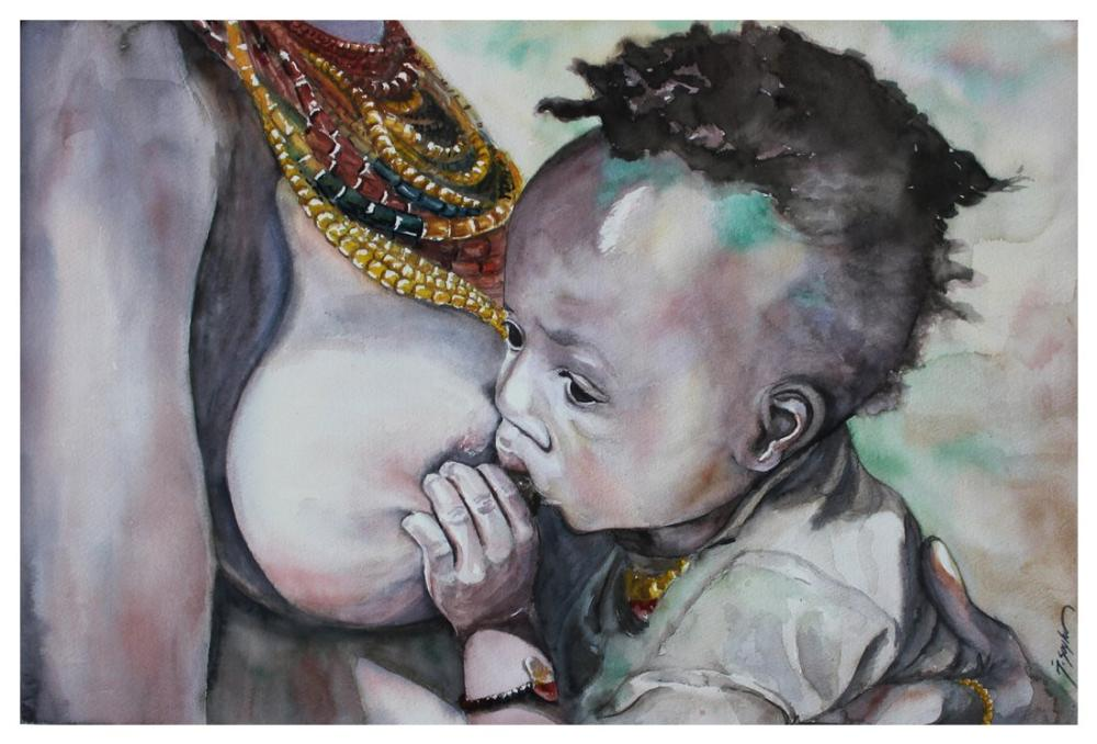 Mother, Original Paintings, , kanvas tablo, canvas print sales