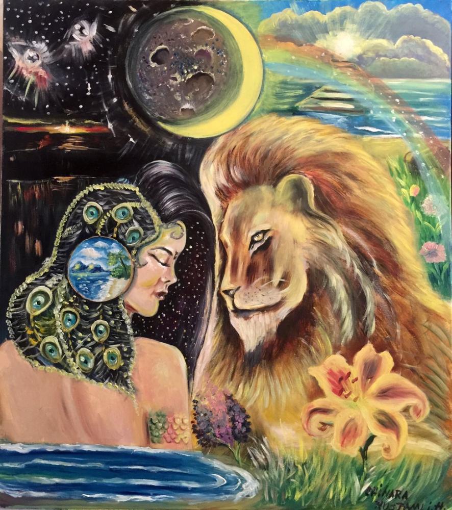 Love Is Opposite, Original Paintings,