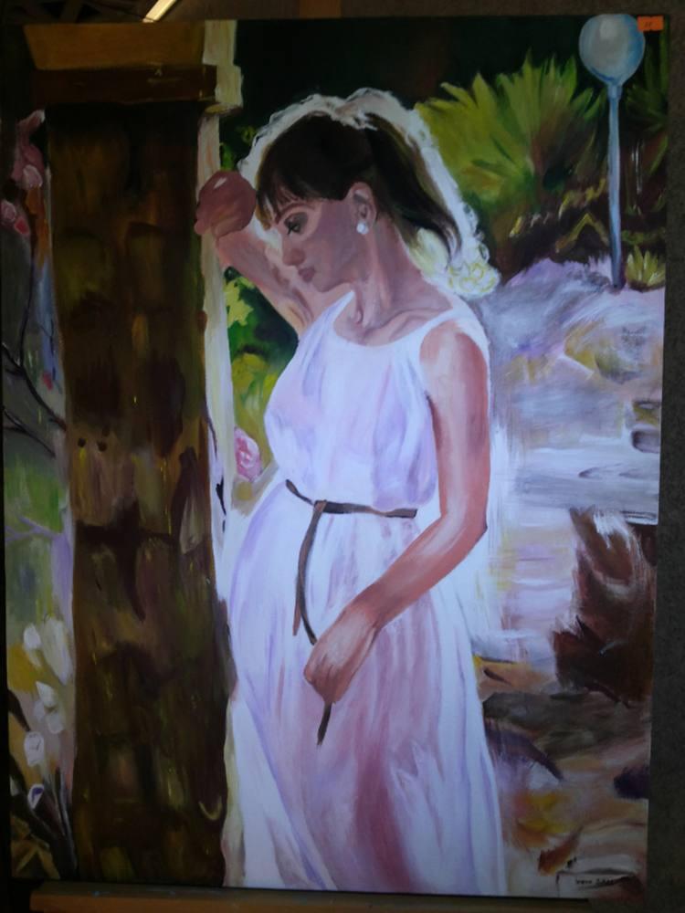 Alone, Original Paintings, , kanvas tablo, canvas print sales