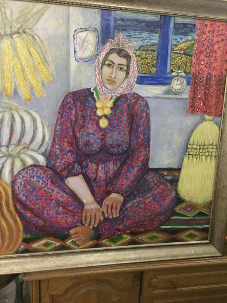 Anadolu köylü kadın, Orijinal Tablo,