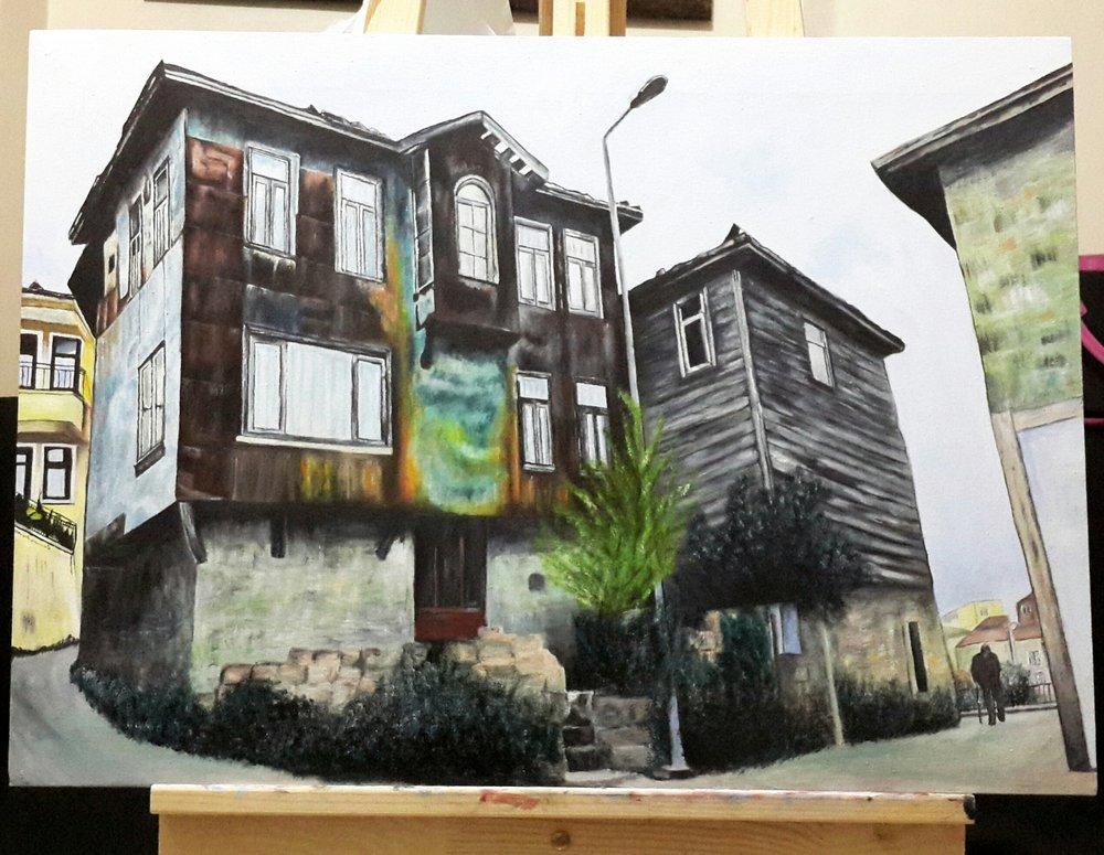 Amasra, Original Paintings, , kanvas tablo, canvas print sales