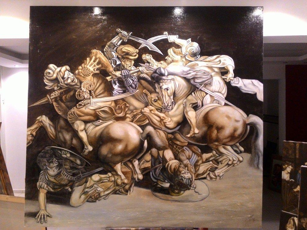 Angiari  Savaşı, Reprodüksiyon Tablo,