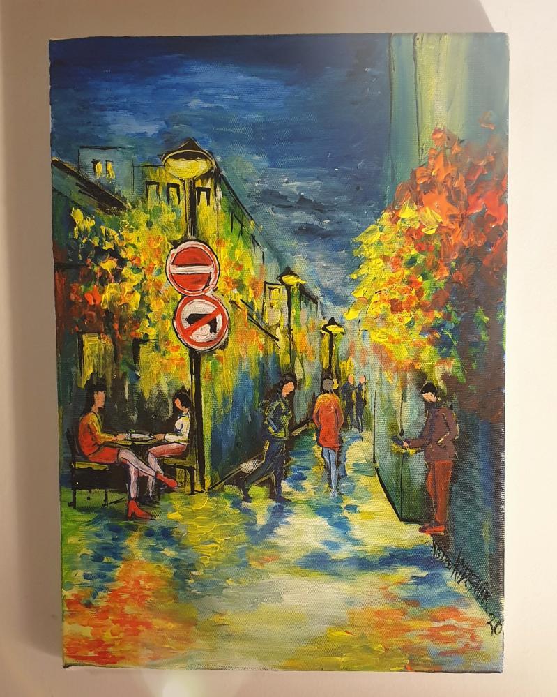 Gece, Orijinal Tablolar, , kanvas tablo, canvas print sales