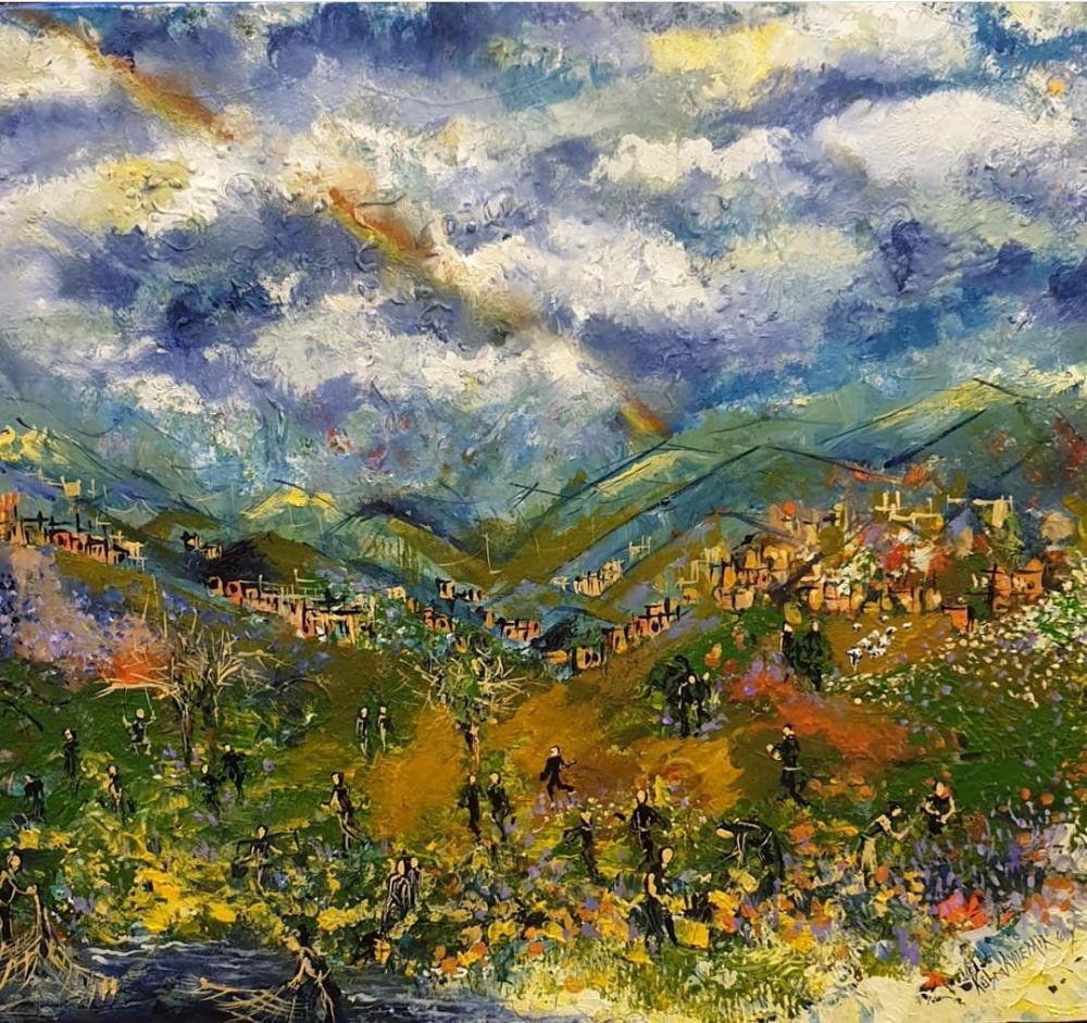 From Generation to Land, Original Paintings, , kanvas tablo, canvas print sales