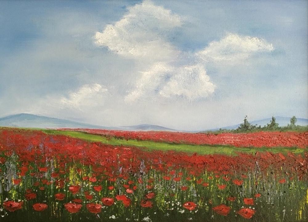 Poppies, Reproduction Paintings, , kanvas tablo, canvas print sales