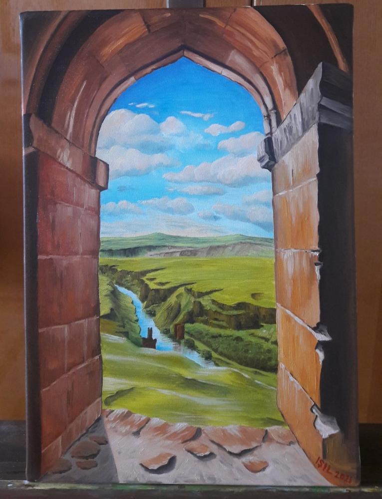Ani Ruins, Original Paintings,