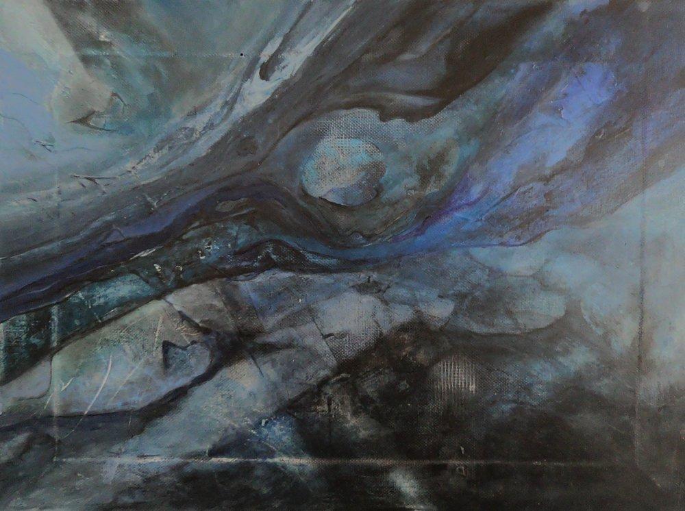 Midnight Hole, Original Paintings, , kanvas tablo, canvas print sales