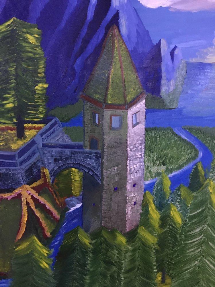 Tower, Original Paintings, , kanvas tablo, canvas print sales