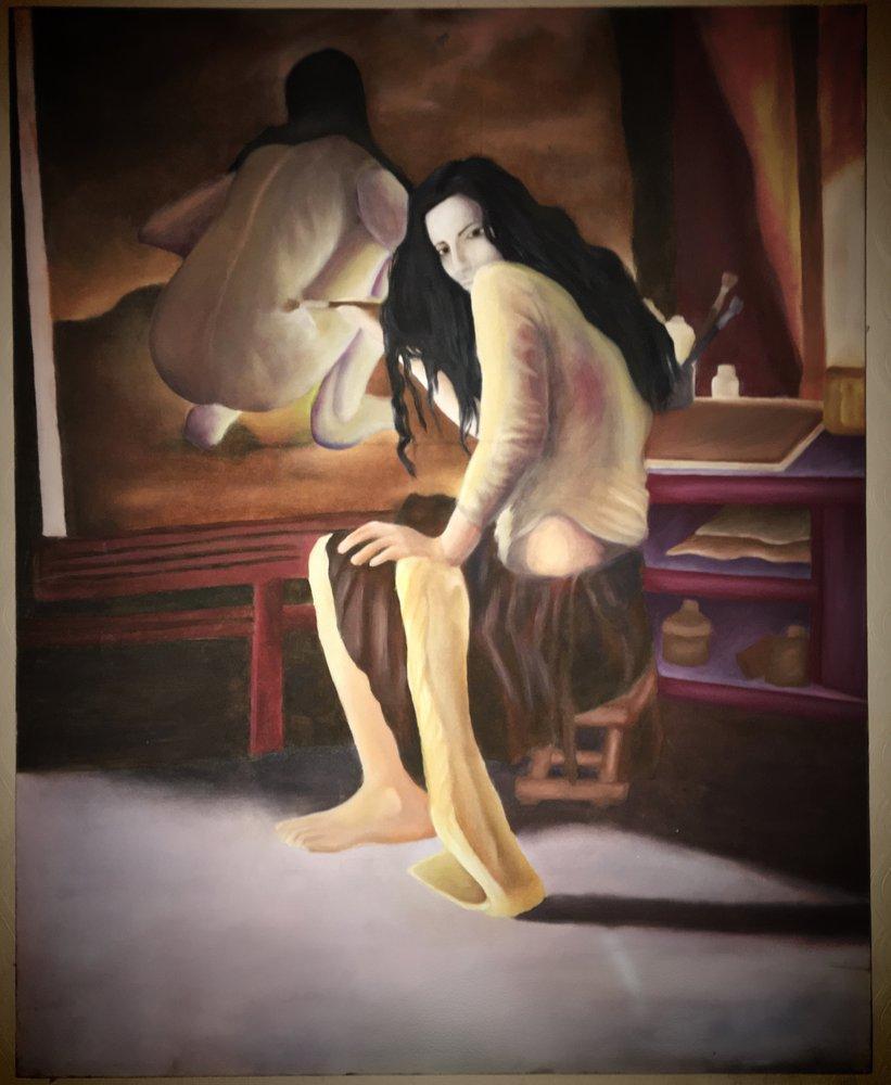 Kadın 11, Orijinal Tablolar, , kanvas tablo, canvas print sales