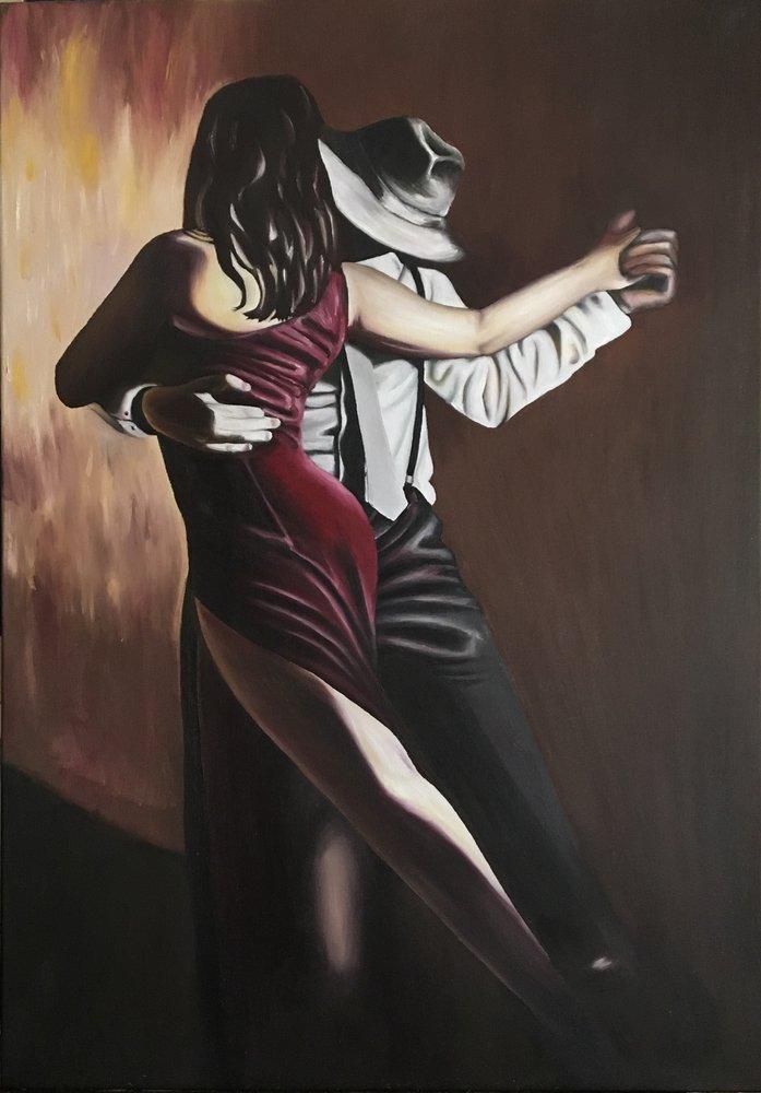 Tango Dansı, Aşk Dansı, Orijinal Tablolar, , kanvas tablo, canvas print sales