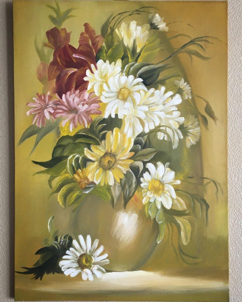 Çiçek, Orijinal Tablolar, , kanvas tablo, canvas print sales