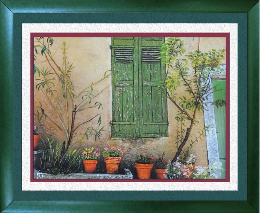 Bahçe, Orijinal Tablo, Milos Trbic