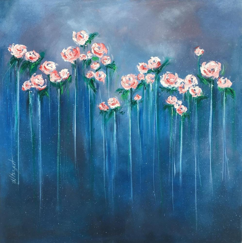 Blue of the Night, Original Paintings, , kanvas tablo, canvas print sales