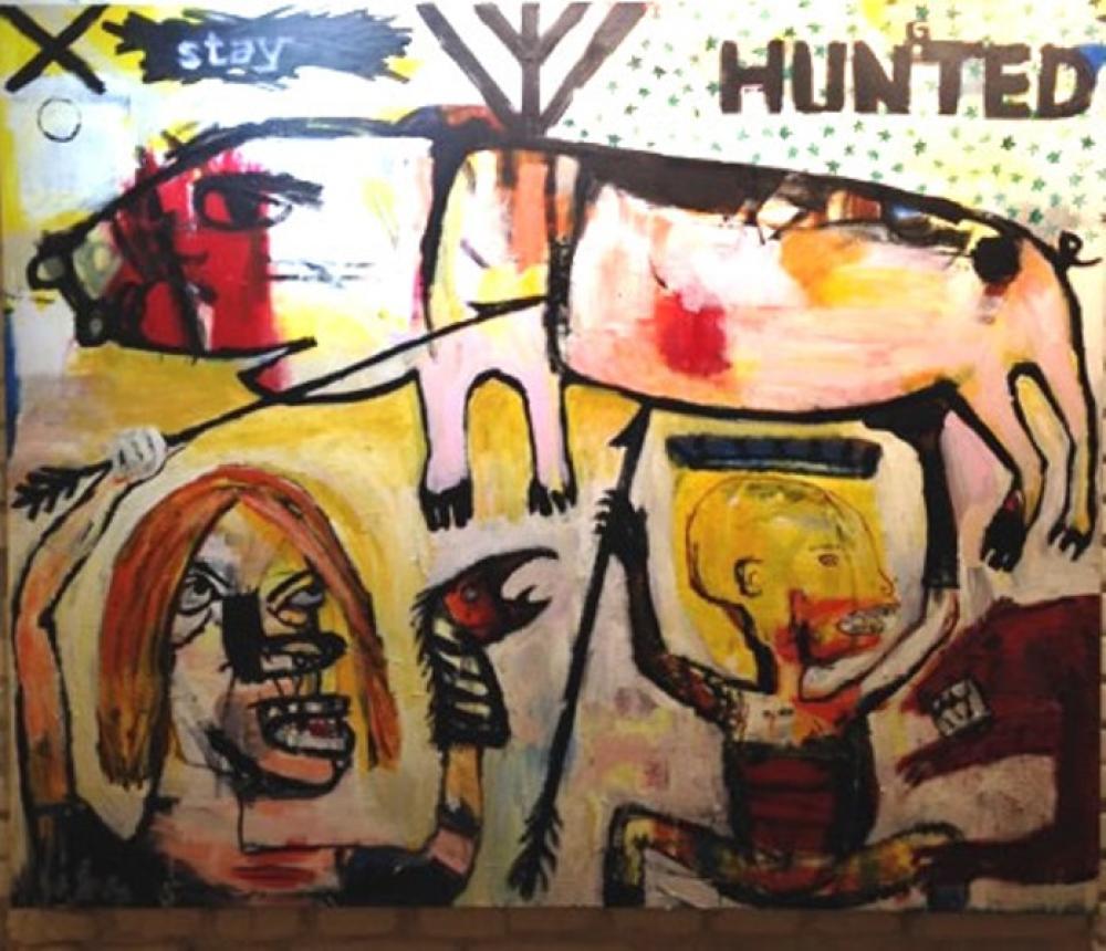 Hunted, Original Paintings, Ümit Kara, kanvas tablo, canvas print sales