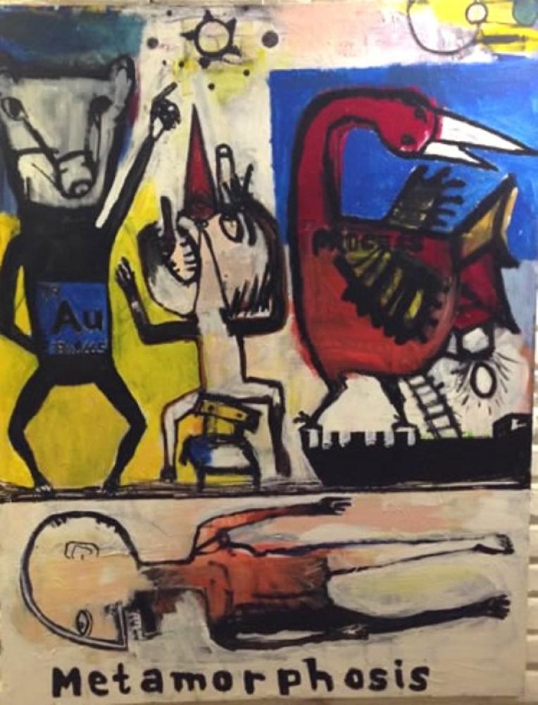 Metamorphosis, Original Paintings, Ümit Kara, kanvas tablo, canvas print sales