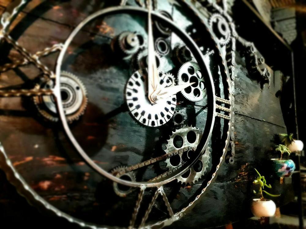 Clock, Sculpt, , kanvas tablo, canvas print sales
