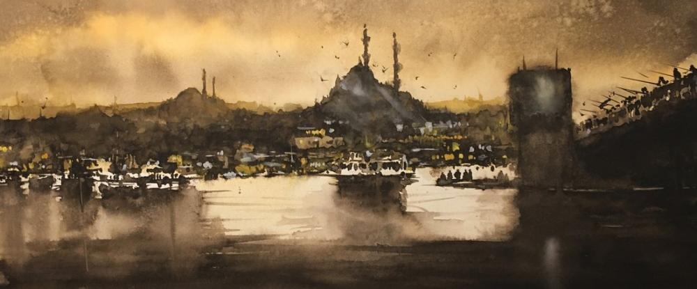İstanbul 1, Orijinal Tablolar, , kanvas tablo, canvas print sales