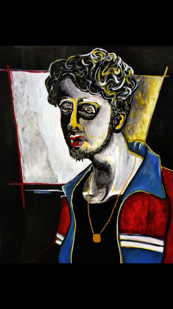 Self-portrait 3, Original Paintings, , kanvas tablo, canvas print sales