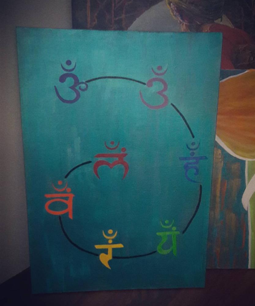 Karma, Original Paintings, , kanvas tablo, canvas print sales