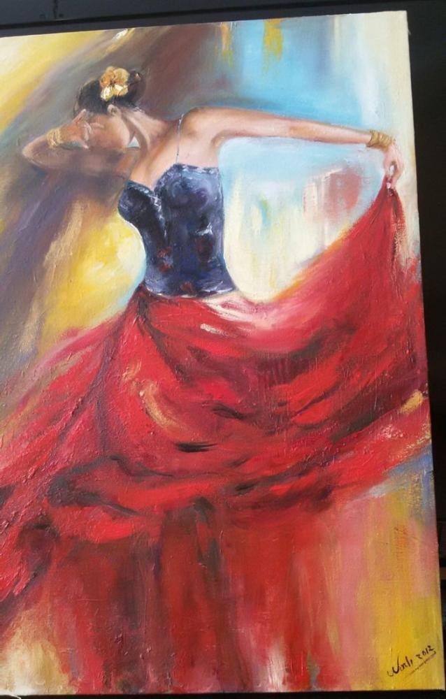 Kırmızı, Orijinal Tablolar, , kanvas tablo, canvas print sales