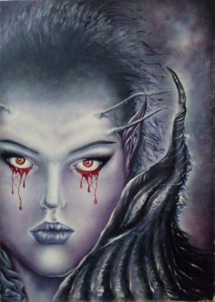 İnherited sadness, Original Paintings, , kanvas tablo, canvas print sales