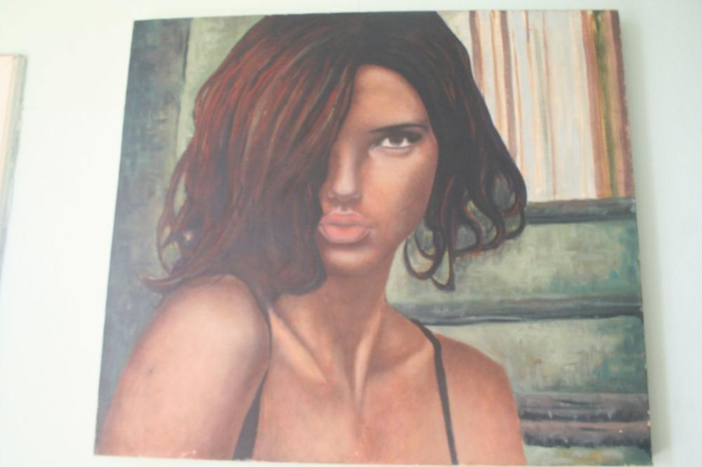 Woman Portrait, Original Paintings, , kanvas tablo, canvas print sales