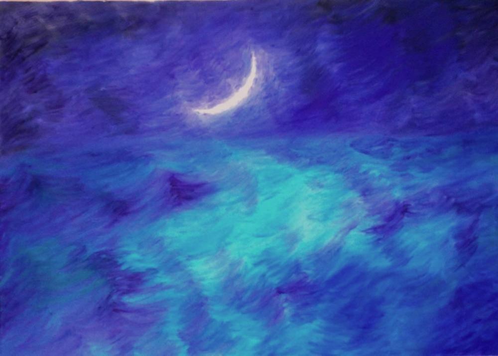 moon 6, Original Paintings,