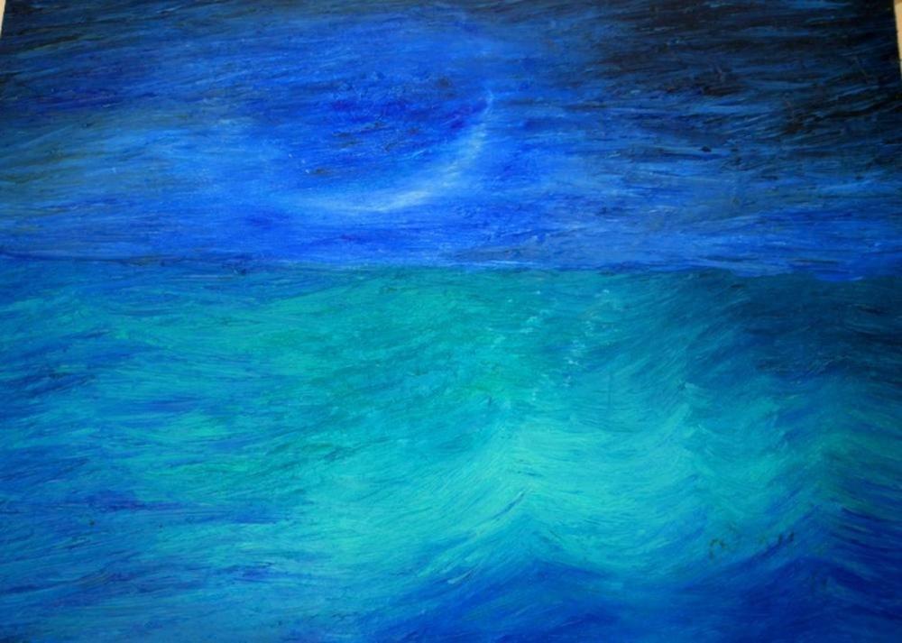 Moon 5, Original Paintings,