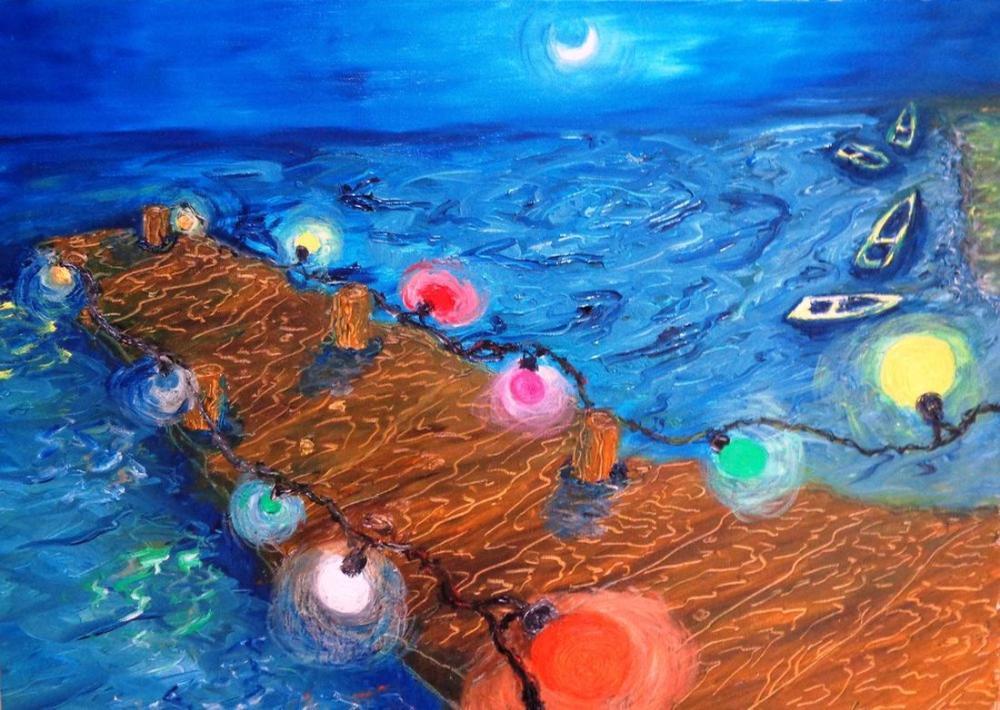 moon 29, Original Paintings, , kanvas tablo, canvas print sales