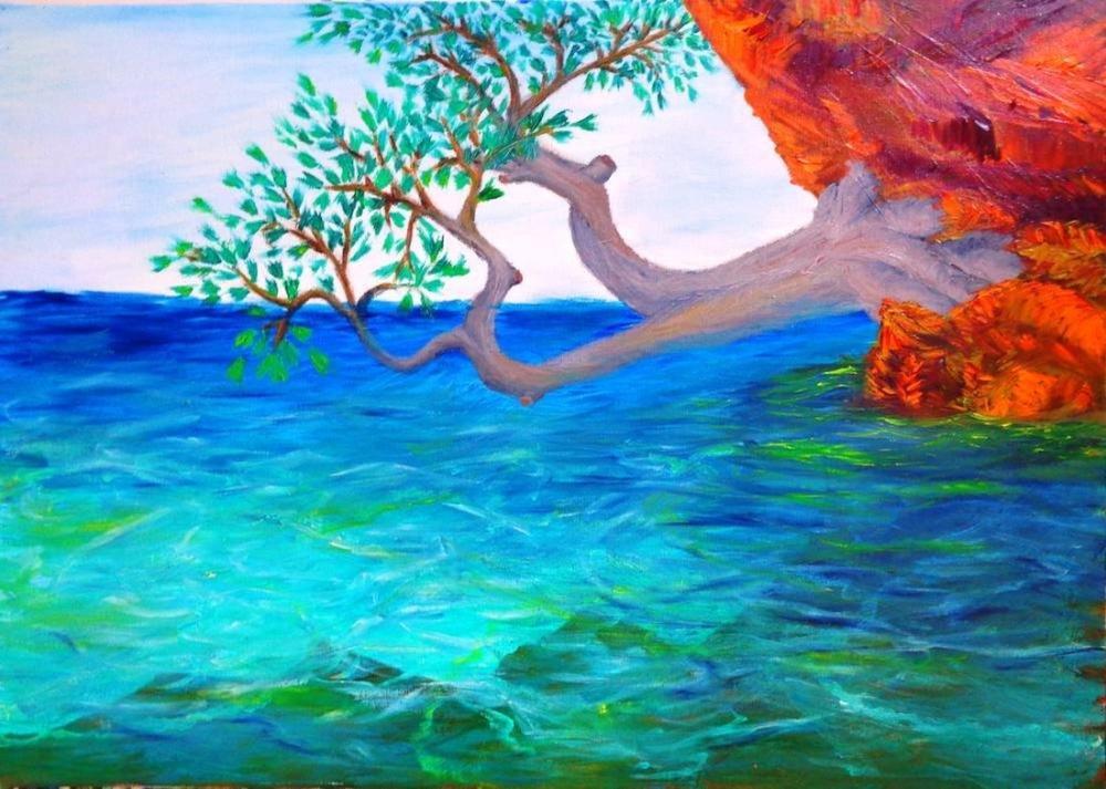 Ağaç 2, Orijinal Tablo,