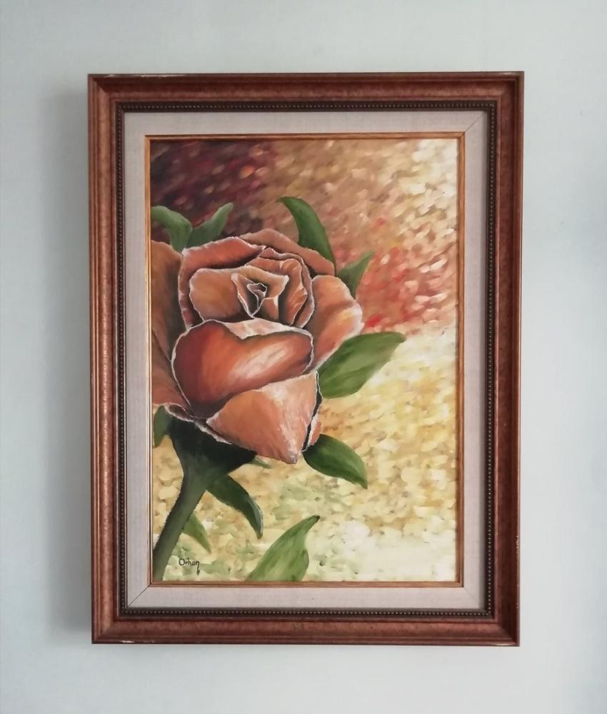 Rose, Original Paintings, , kanvas tablo, canvas print sales