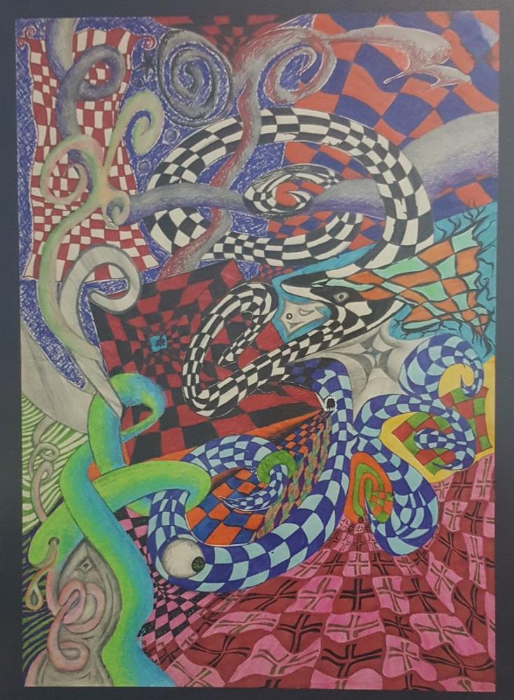 Manzara-yı Mücerret, Orijinal Tablolar, , kanvas tablo, canvas print sales