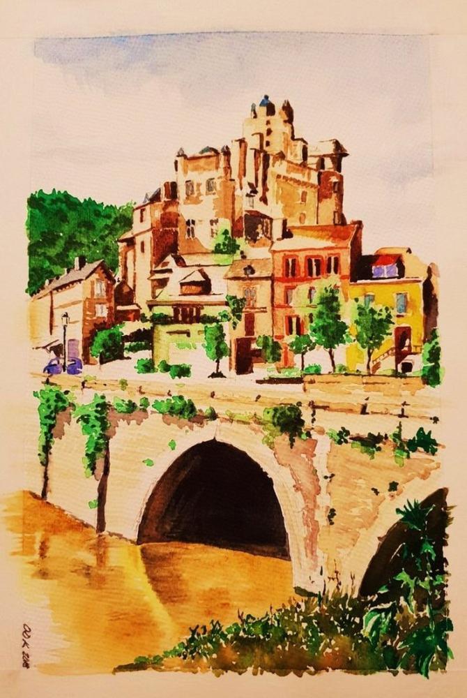 Bridge 1, Original Paintings, , kanvas tablo, canvas print sales