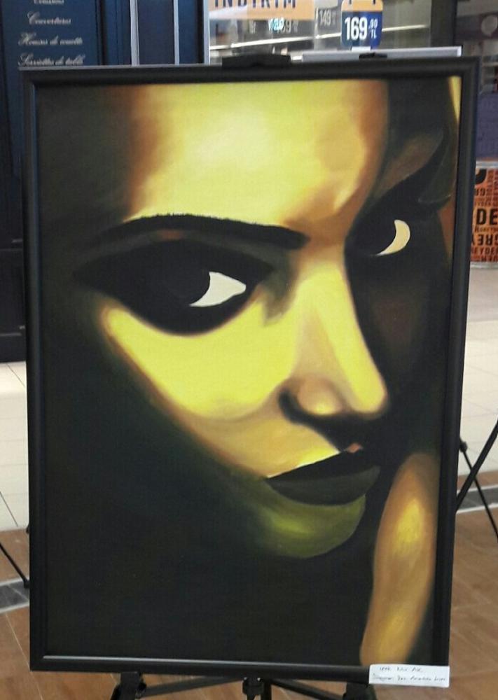 Meaningful glances, Original Paintings,