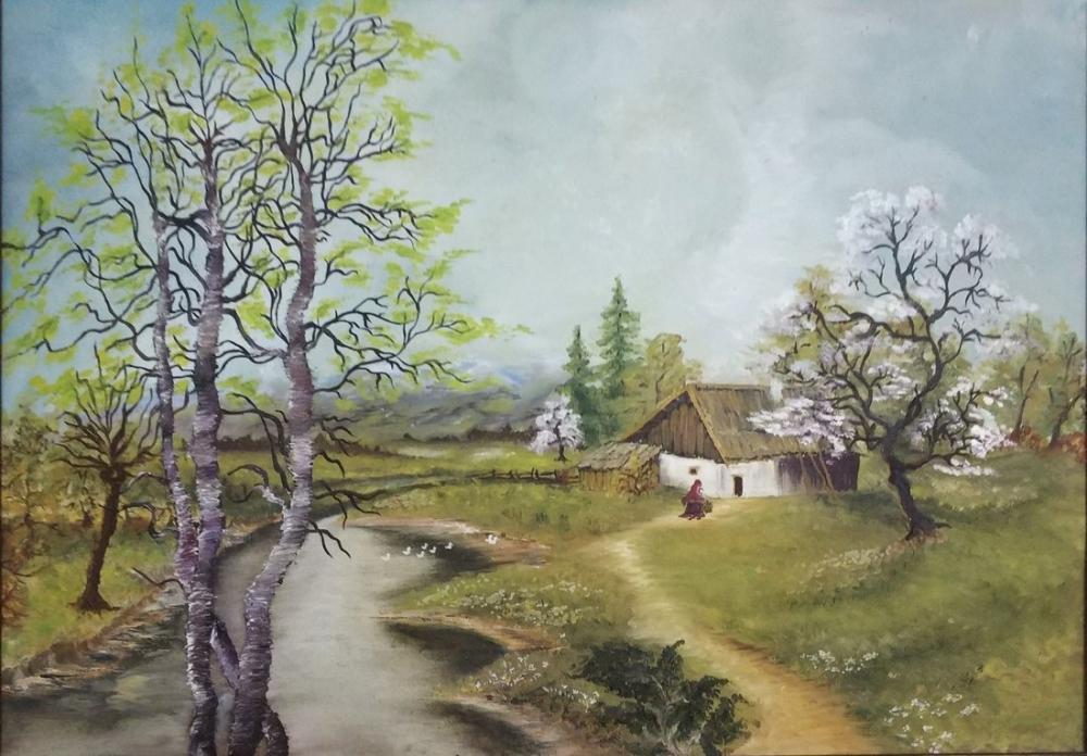Once Upon A Time Tetovo, Original Paintings, , kanvas tablo, canvas print sales