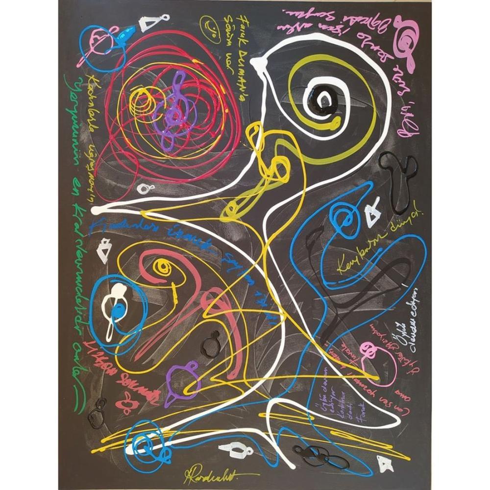 Topaç 2, Orijinal Tablolar, , kanvas tablo, canvas print sales