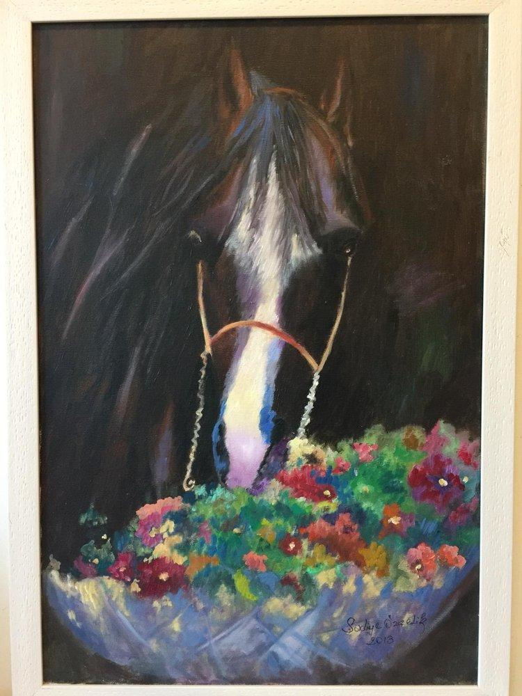 Horse Head, Original Paintings, , kanvas tablo, canvas print sales